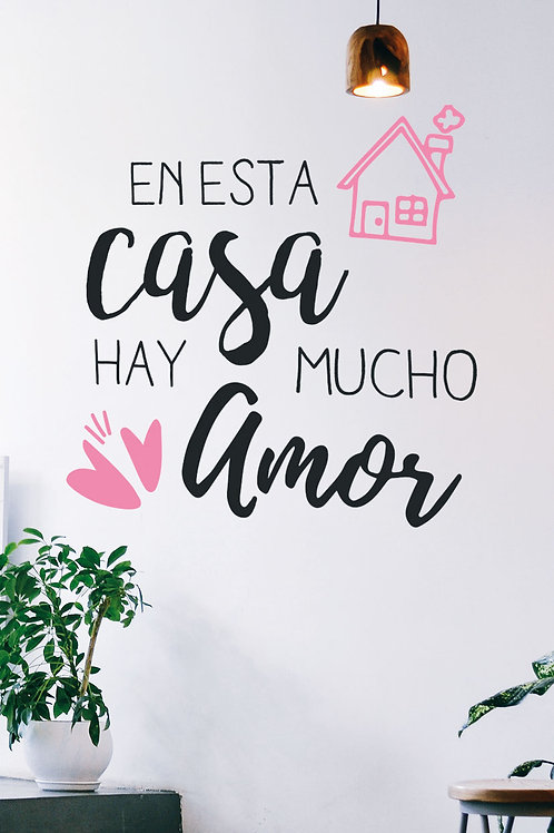 Casa con amor