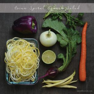 Asian Farmer's Market Spiral Salad