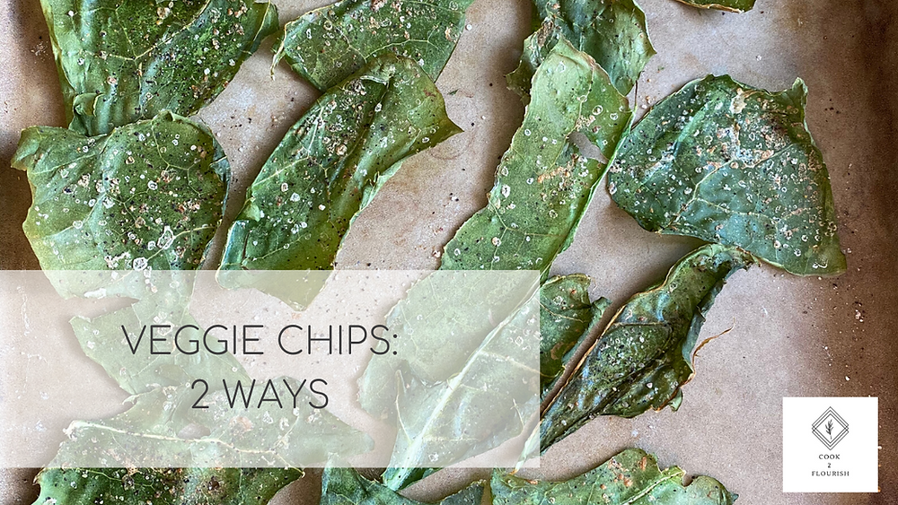 How to use Senposai. Kale Chips Recipe