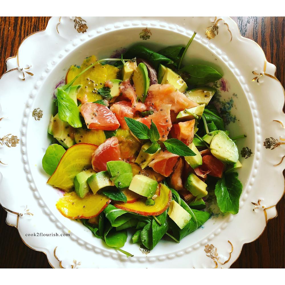 Spring Delight Arugula Salad