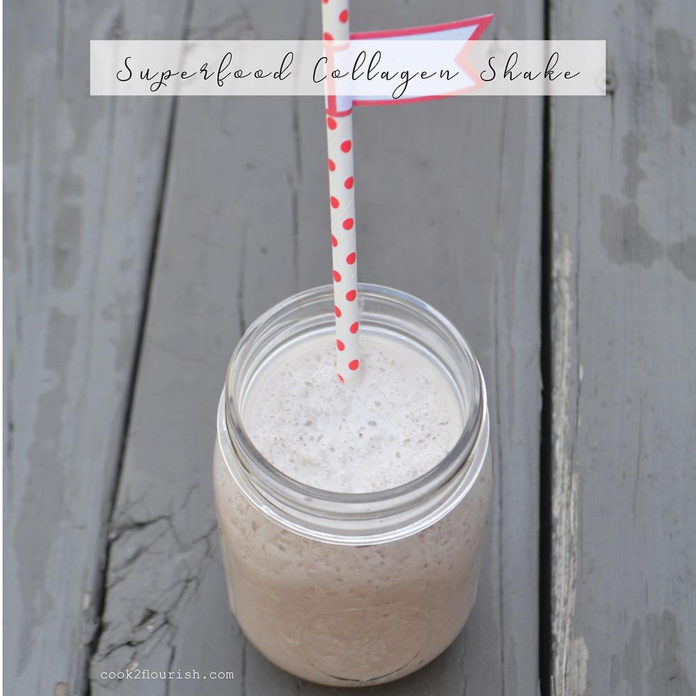 superfood collagen shake