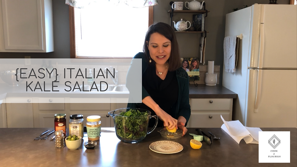 How To Make Kale Salad Video