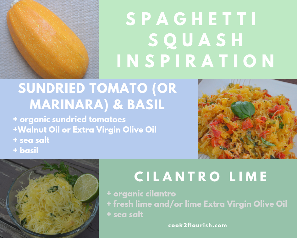 spaghetti squash easy recipe ideas