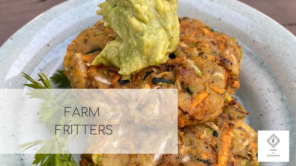 gluten free veggie fritters   farm fritters