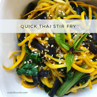 Quick Thai Stir Fry