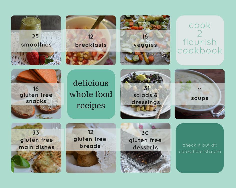 cook 2 flourish cookbook recipe contents