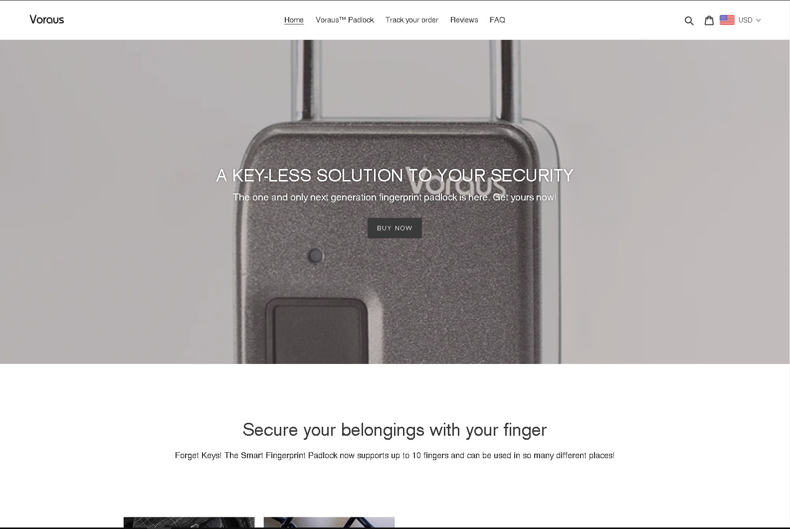 voraus website