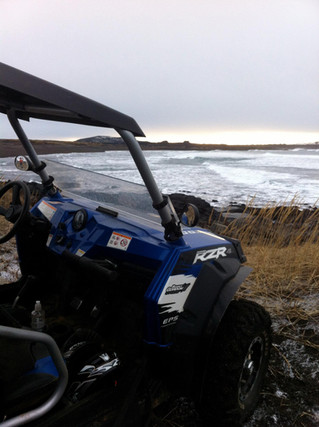 ATV and Buggy by the beach.