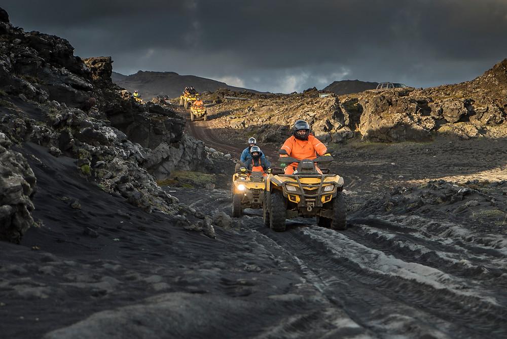 fjórhjólaferðir Reykjavík