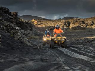 Fjórhjólaferðir frá Reykjavík