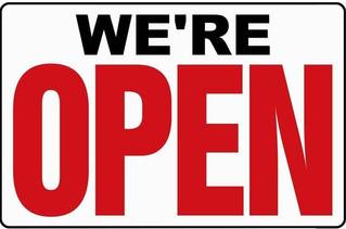 BWD is open again!