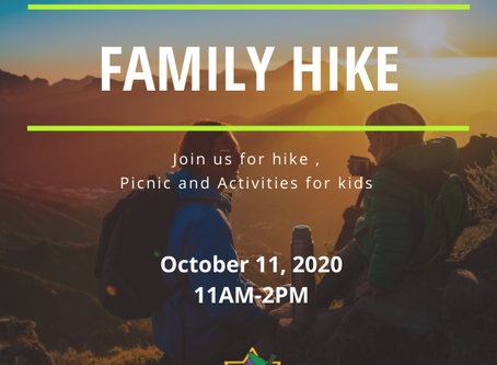 Save the Date! Shevet Gefen's Family Hike!