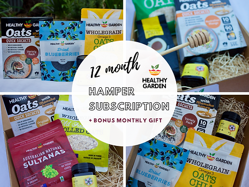 12 Month Hamper Subscription
