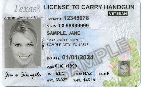 License To Carry/Concealed Handgun License