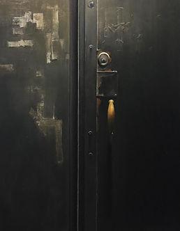 Westbeth 12 Studio Door 3 Door at Night.