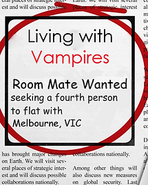 Living With Vampire - Book