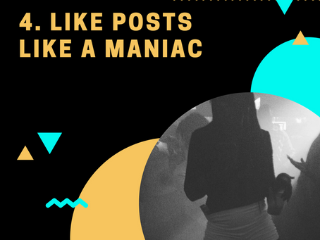 1000 Followers Challenge: Tip #4 Like posts like a Maniac