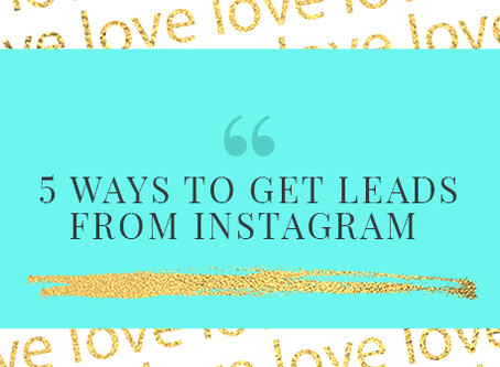 5 Ways to Capture Leads on Instagram