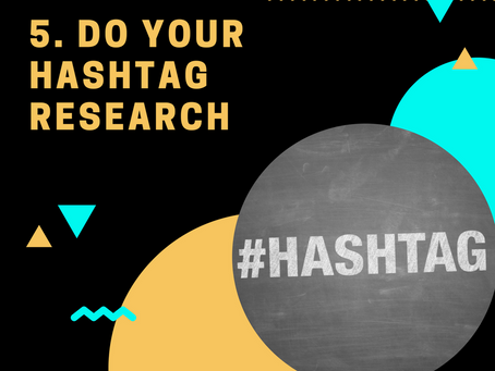 1000 Followers Challenge: Tip #5 Do your Hashtag Research