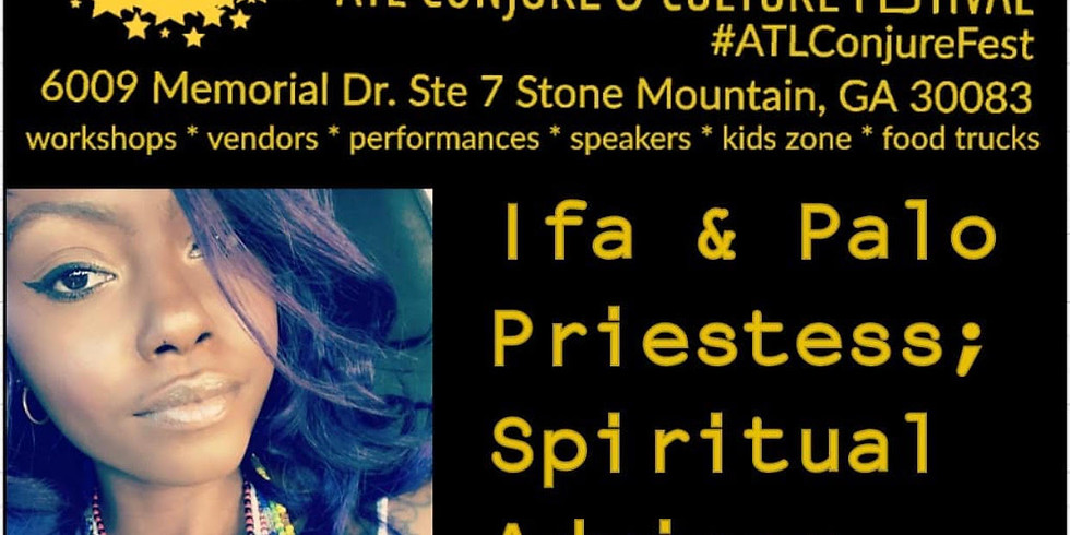 Atl Conjure and Culture Festival - Twin Flame Life & Love Workshop