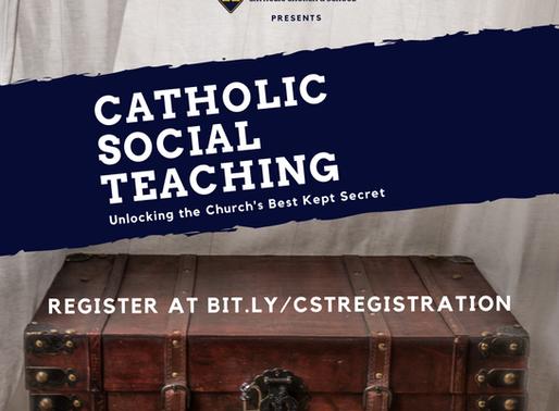 Register for 7-Part Catholic Social Teaching Webinar Starting August 11th