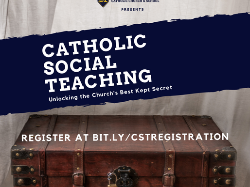 Register for 7-Part Catholic Social Teaching Webinar Starting August 11th