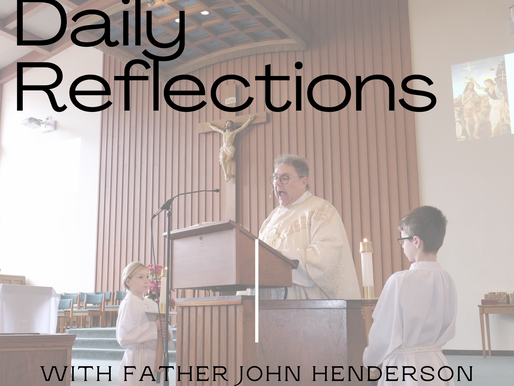 Listen to the inaugural episode of Fr John's New Podcast!