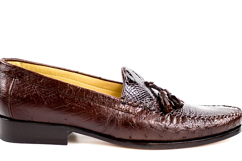 Bari, Alligator and Ostrich Loafers Style: R11