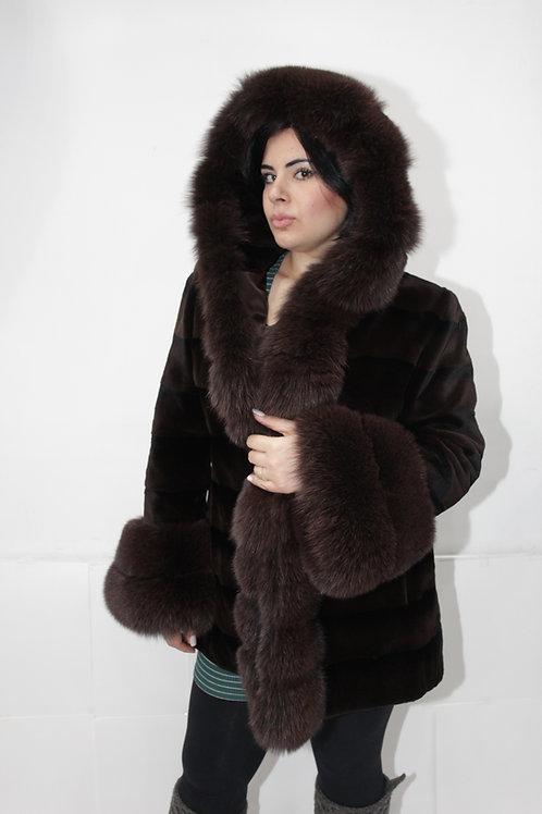 Sheer Mink Jacket