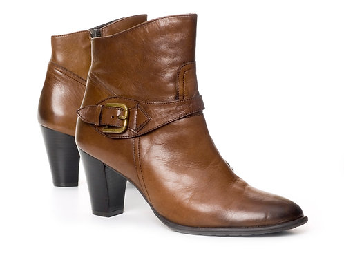 Leather Brown Boots Woman