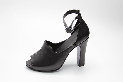 Stylish peep-toe heels