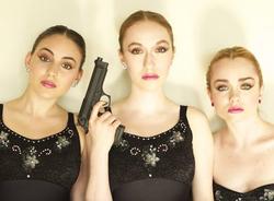 """Three Tutus and a Gun"""