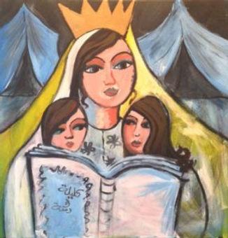 Nada Odeh, Syrian refugee women art.jpg