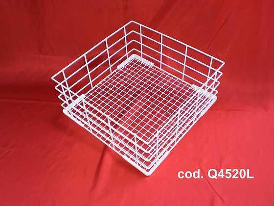 Wire Coated Glass Washing Baskets