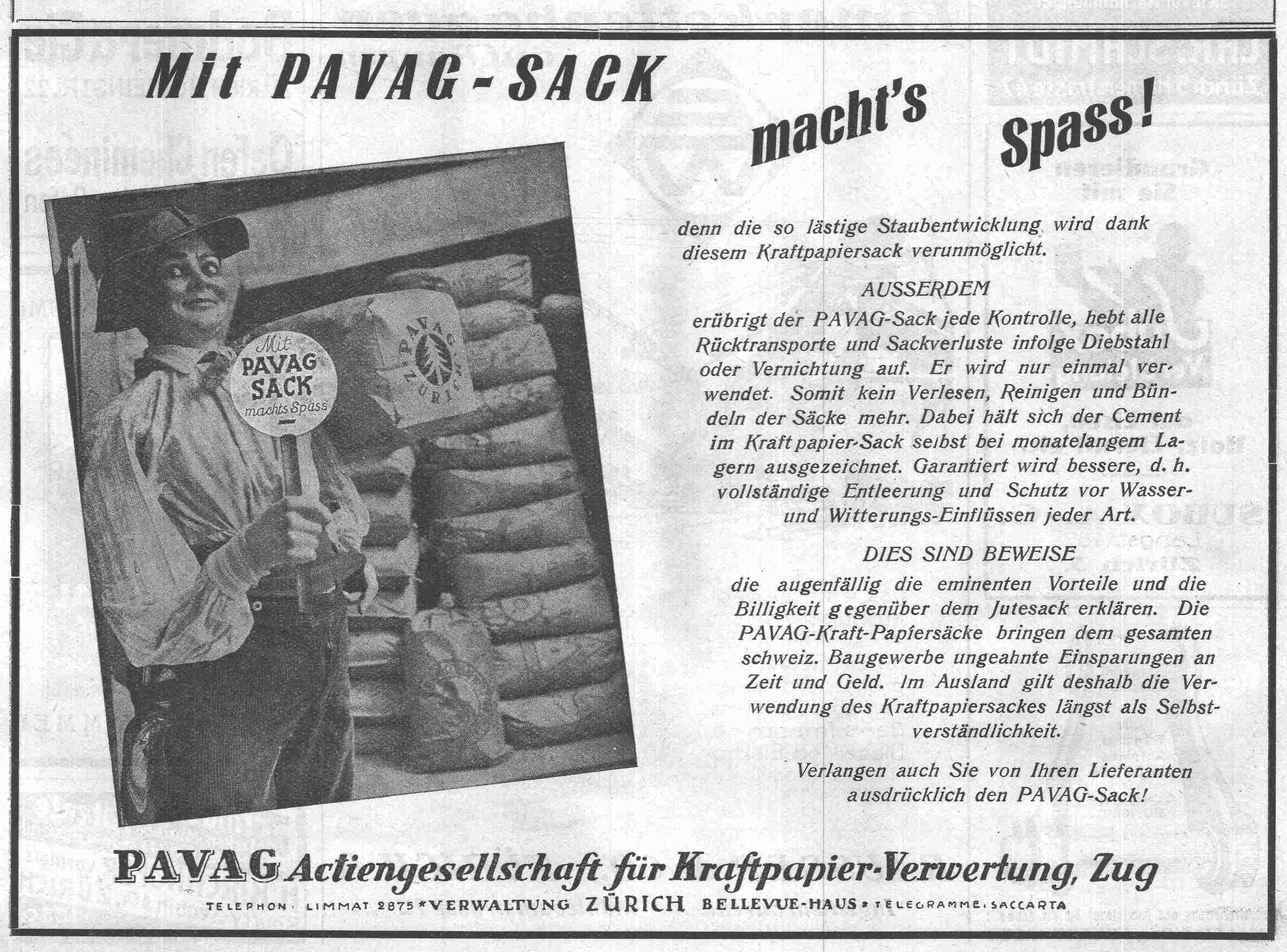 1928 - The PAVAG bag