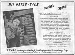 1928 - Der PAVAG Sack