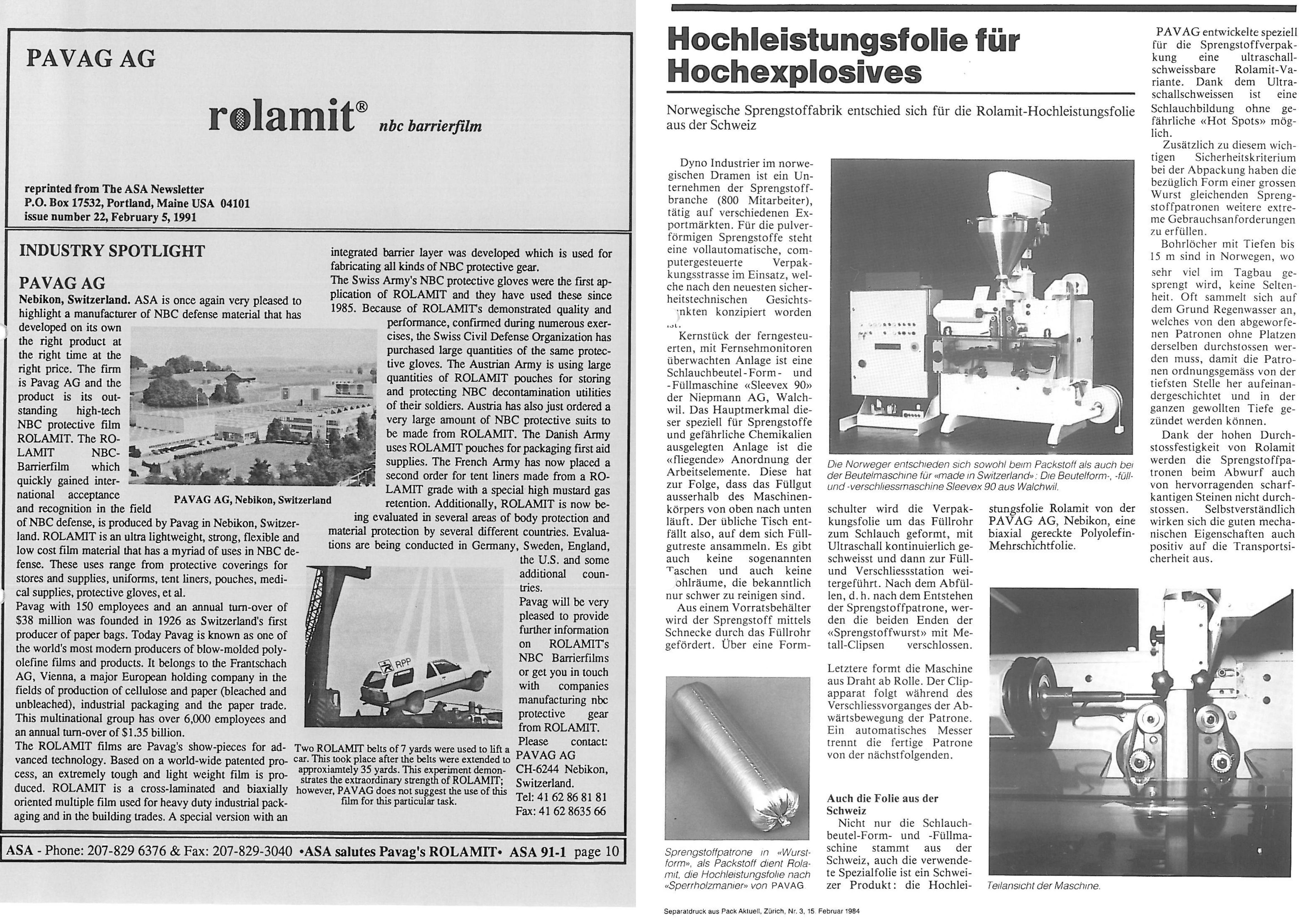 1983 - Rolamit®