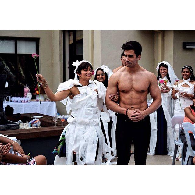 Bridal gown winner 👑  #cabanaboys #toplesswaiters #sydney #physique #fitspo #gains #sydney #instafi