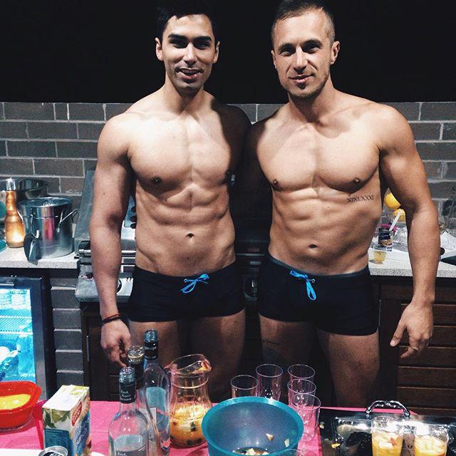 The bartenders 🍹🍸🍷