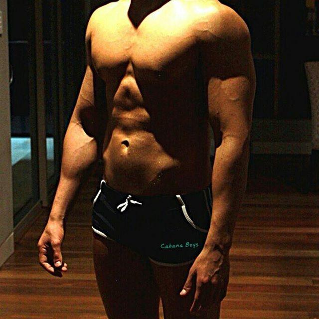 Pre-hens meditation 😏  #cabanaboys #toplesswaiters #sydney #physique #fitspo #gains #sydney #instaf