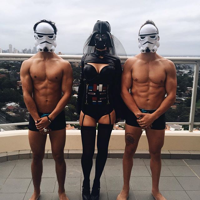 May the force be with you 🌌__#cabanaboys #toplesswaiters #sydney #physique #fitspo #gains #sydney #