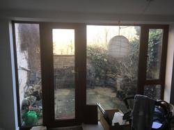Doors to patio 'before'