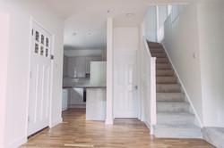 Hallway through to kitchen 'after'