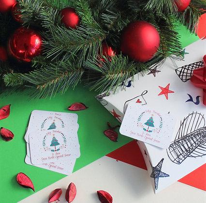 Tarjeta Navidad - Arbolito