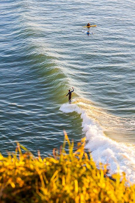 Biarritz, La cote des Basques, Pays Basque, France. Sunset, Golden hours, Photographie, Longboard.