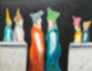 Ramon Carulla painting REUNION II