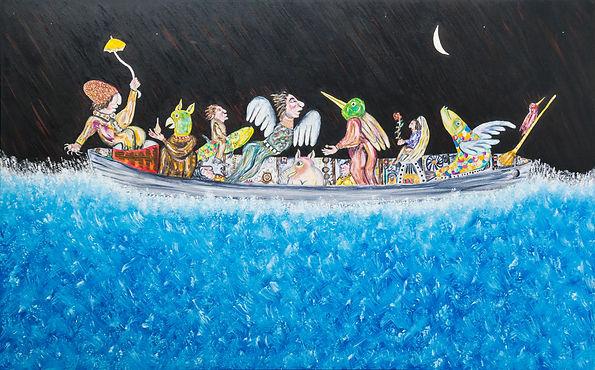 Ramon Carulla painting RECUERDOS DE OTROS VIAJES