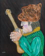 Ramon Carulla painting SIN TON NI SON