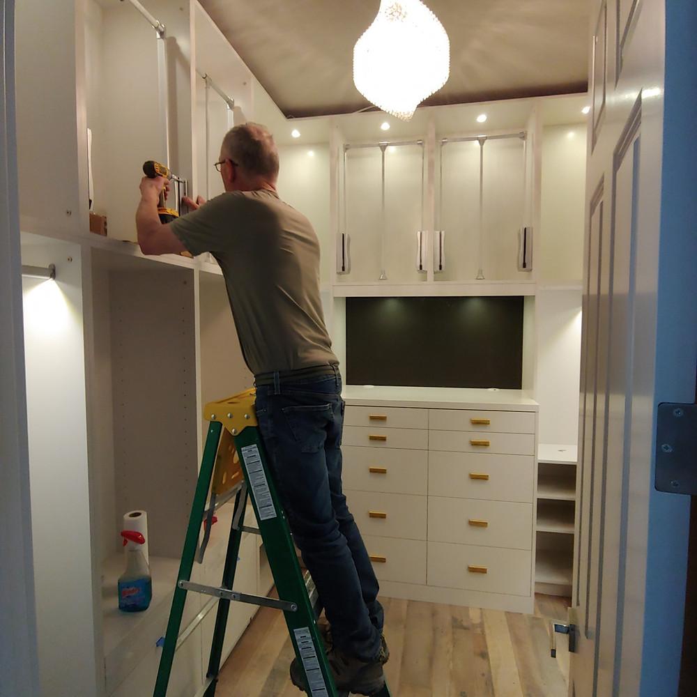 residential custom closet
