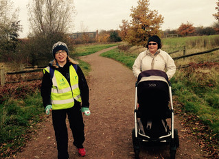 A new buggy walk has launched in Cambourne
